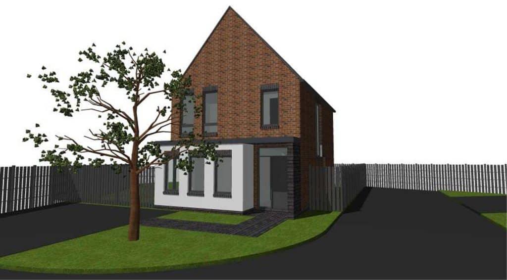 housing development new build