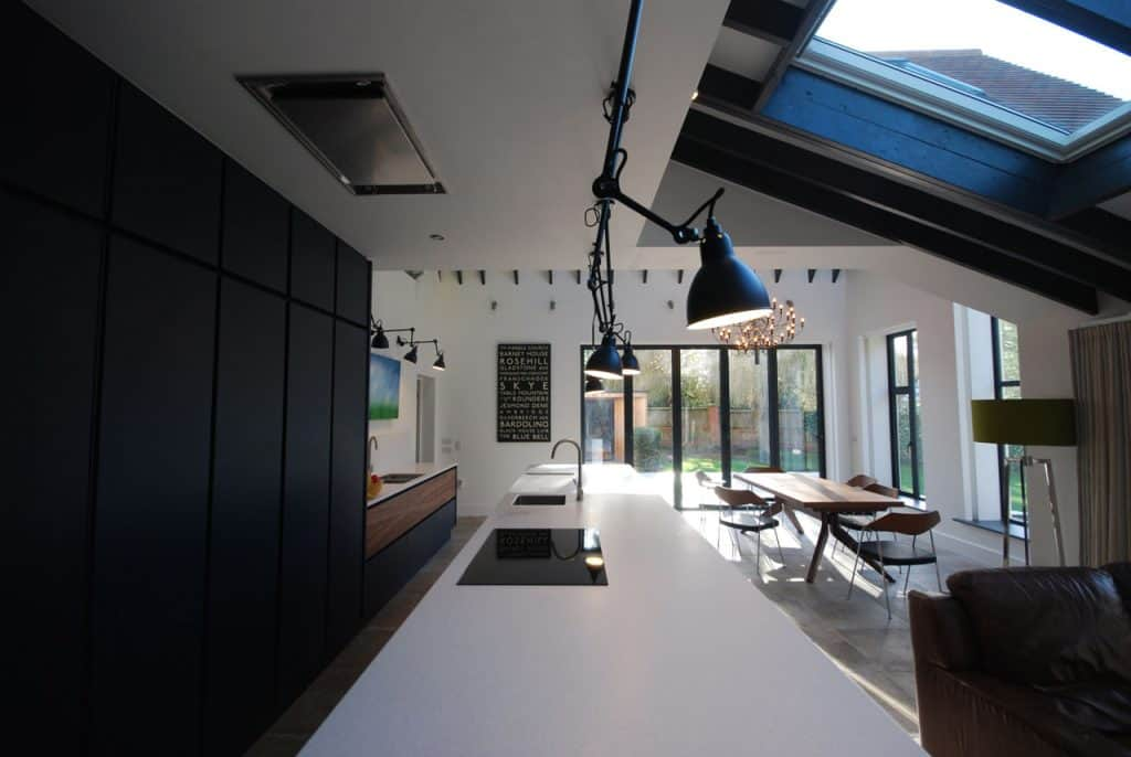 modern kitchen diner cheshire