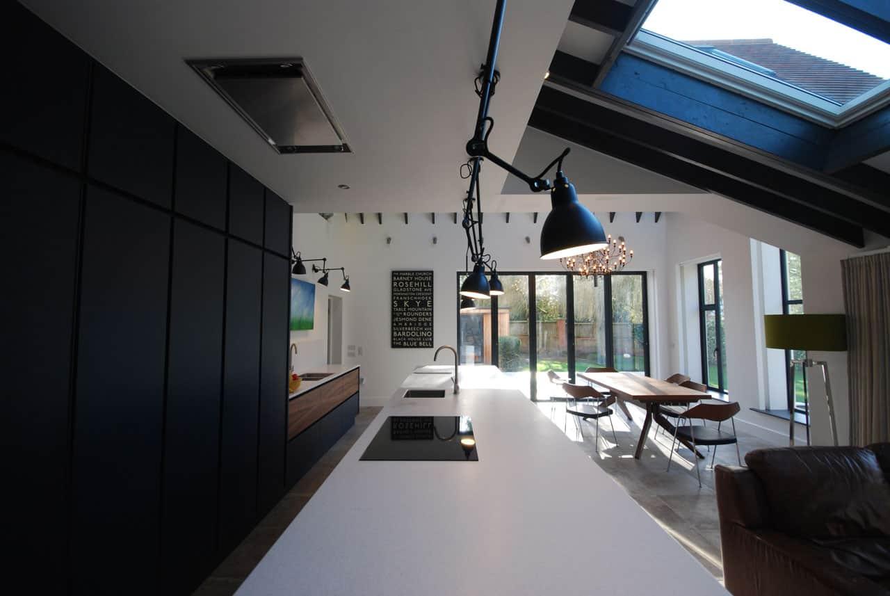 modern kitchen diner cheshire